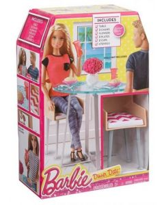 Barbie store møbler - bord og stoler