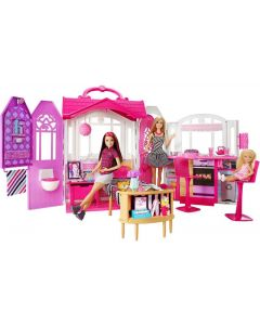 Barbie getaway lekehus - sammenleggbart