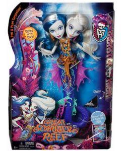 Monster High Great Scarrier reef - Peri and Pearl Serpentine dukke