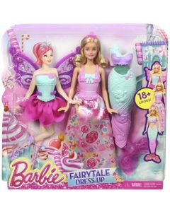 Barbie farytail dress up-dukke