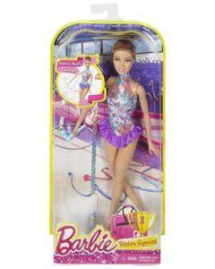 Barbie gymnast med bånd