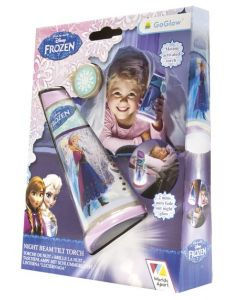 Disney Frozen nattlampe - Go Glow Tilt Torch