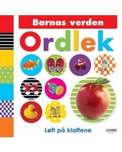 Barnas verden: Ordlek pekebok med klaffer