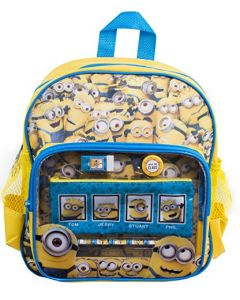 Minions Backpack with Stationery