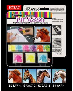 Stempelsett - hest