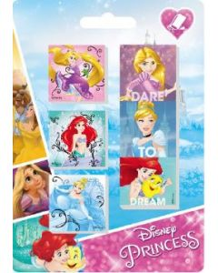 Disney Princessviskelær - 6 stk