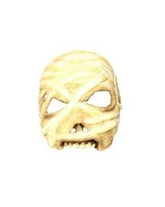 Halloweenmaske til voksen - mummie
