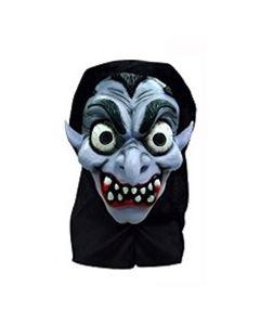 Halloweenmaske til barn med hette - dracula