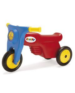 Dantoy motorsykkel med gummihjul - lengde 60 cm
