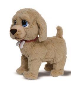 Goldy interaktiv hund med bein