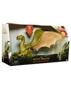 Disney Pete's dragon - Elliot & Pete flying figursett