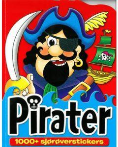 Aktivitetsbok pirater med klistremerker