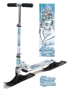Snow Queen skiscooter - hvit
