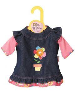 Baby Born dukkeklær - kjole og jeans