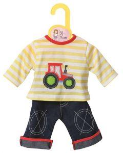 Baby Born dukkeklær - traktorgenser og bukse