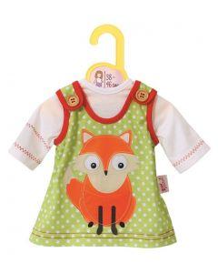 Baby Born dukkeklær - fashion animal kjole L