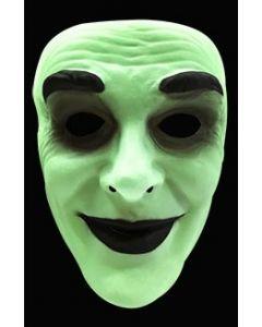Selvlysende halloweenmaske til voksen - mann
