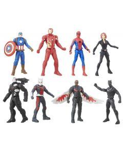 Avengers multipack 6 cm - 8 figurer