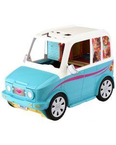 Barbie puppy mopbile - med hundevalper