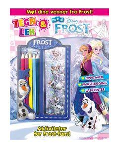 Disney Frozen aktivitetspose - Tegn og lek med Frost