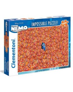 Clementoni Disney Finding Dory impossible puslespill - 1000 biter