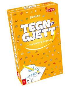 Tegn & gjett junior - reisespill