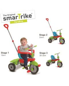 Smart Trike Breeze 2017 3 trikes in 1 - Touch Steering