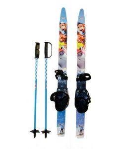 Vennebyen skipakke - ski, bindinger og staver