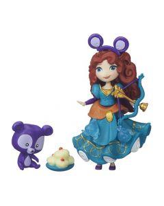 Disney Princess Small Doll Princess & Friend - Merida