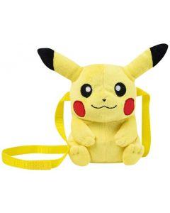 Pokemon crossbody-veske i plysj - Pikachu