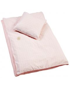 Filibabba juniorsengesett 100 x 140 cm - Indian dusty rose