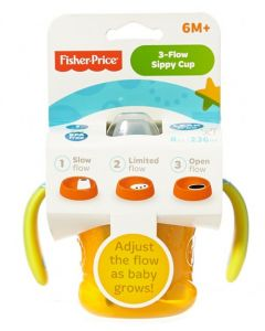 Fisher Price Sippy Kopp 3in1