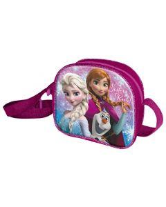 Disney Frozen veske med Elsa, Anna og Olaf-motiv - rosa