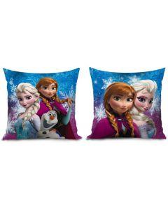 Disney Frozen pute med print - Elsa og Anna og Olaf