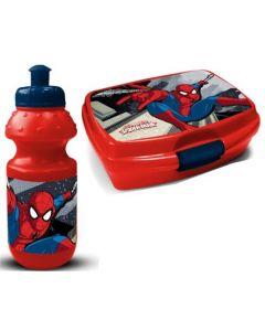 Spider-Man matboks og drikkeflaske