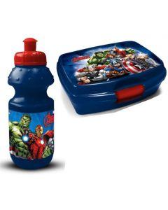 Avengers matboks og drikkeflaske