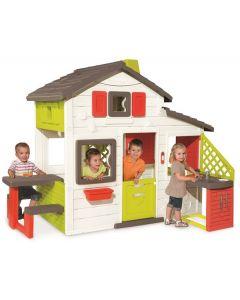 Smoby Friends house lekehus med utekjøkken