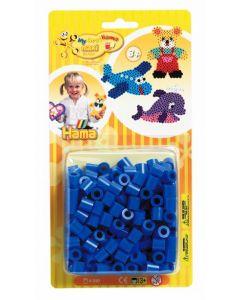 Hama Maxi blister 250 perler - blå