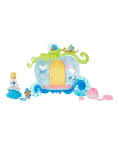 Disney Princess Small Doll Playset - Cinderella's Bibbidi Bobbidi vogn