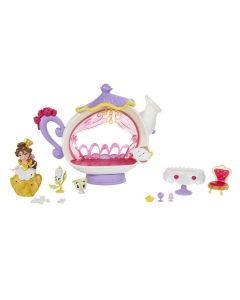 Disney Princess Small Doll Playset - Belles magiske middag