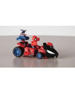 Avengers Super Hero Mashers micro figur og kjøretøy - Spider-Man