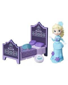 Disney Frozen Small Doll & Acc - Elsa og soverommet
