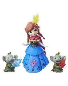 Disney Frozen Small Doll & Friend - Anna and Rock trolls