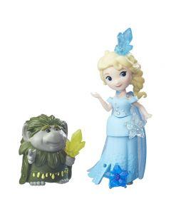 Disney Frozen Small Doll & Friend - Elsa og Grand Pabbie