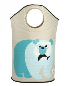 3 Sprouts skittentøyskurv - Isbjørn