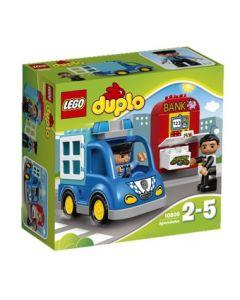 LEGO DUPLO Town 10809 Politiets patruljebil