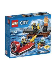 LEGO City 60106 Startsett for brannmannskap