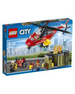 LEGO City 60108 Brannvesenets utrykningsenhet
