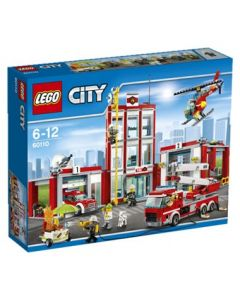 LEGO City 60110 Brannstasjon