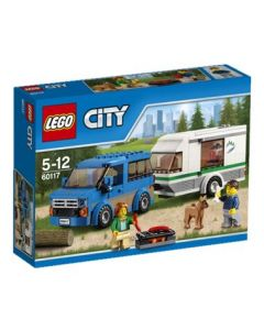 LEGO City 60117 Van og campingvogn